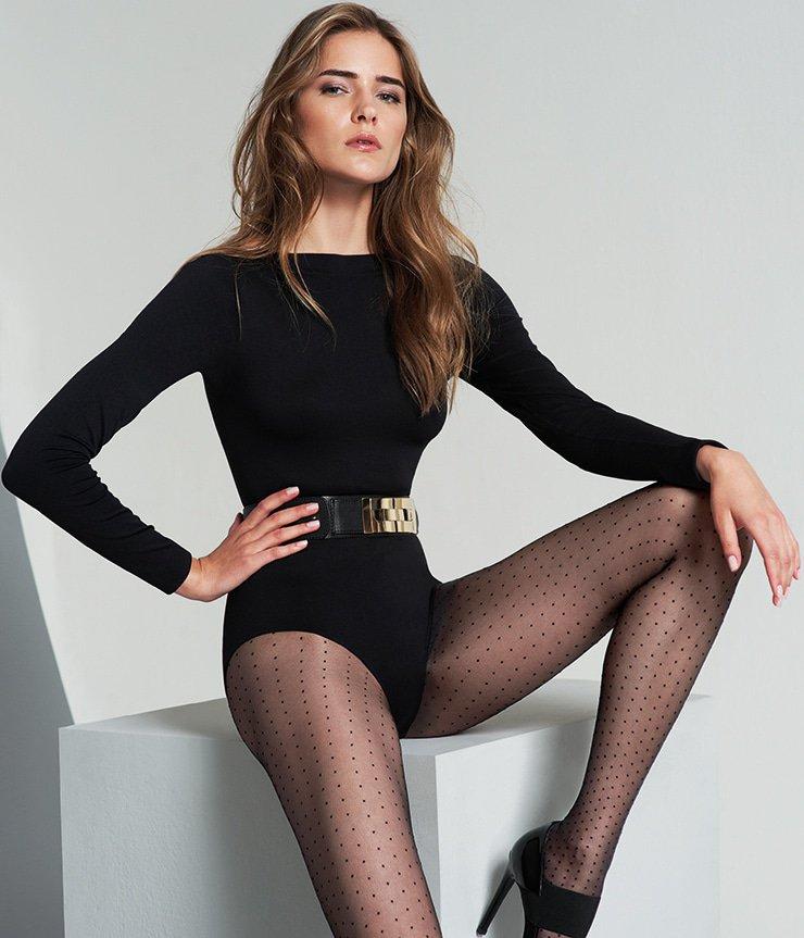 Oroblu panty stippen