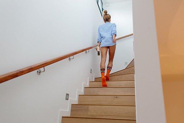 Deze sokken maken je quarantaine outfit compleet