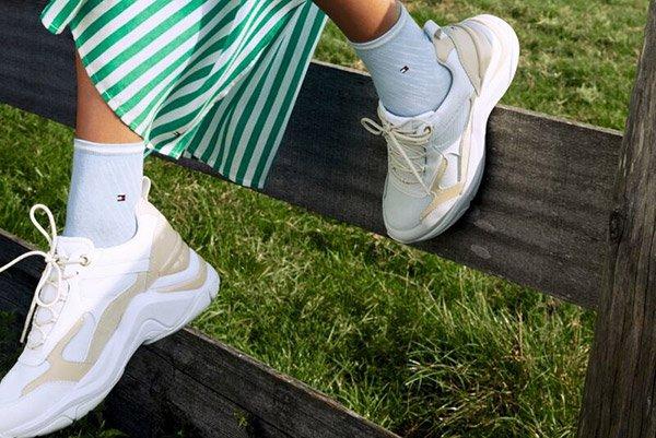 Lentekriebels met de nieuwe Tommy Hilfiger sokken