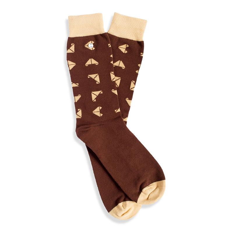 Afbeelding van Alfredo Gonzales sokken choco croissants unisex
