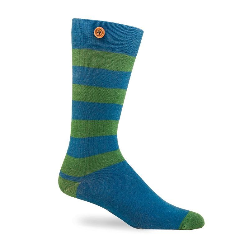 Afbeelding van Button Right sokken brian heren