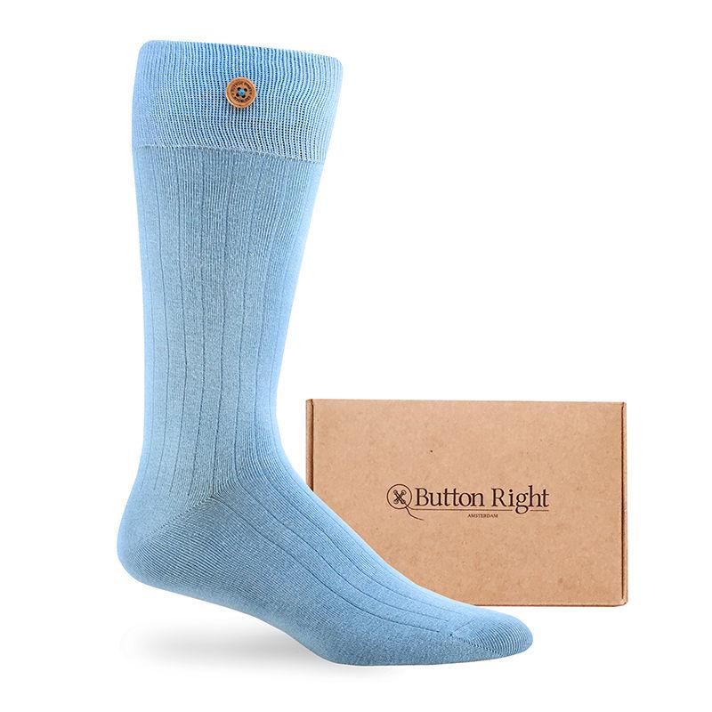 Afbeelding van Button Right sokken castello unisex