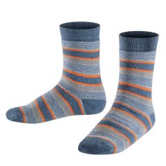 kids catspads mixed stripe denim blauw