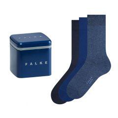 happy box 3-pack solid blauw