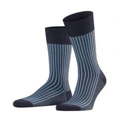 oxford stripe lichtblauw / donkerblauw