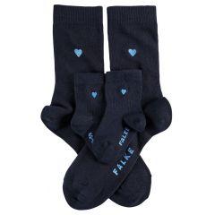 mini me 2-pack heart blauw