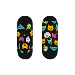 funny cat footies zwart