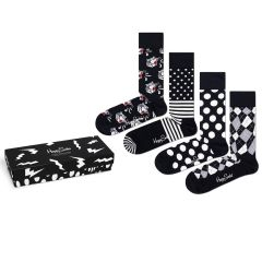 black & white giftbox 4-pack multi