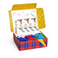 downhill skiing giftbox 3-pack multi