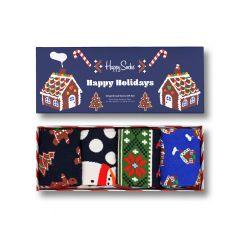 gingerbread cookies giftbox 4-pack multi