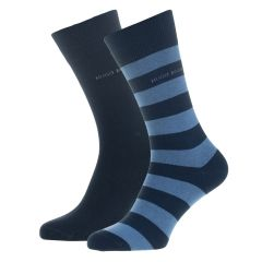 block stripe 2-pack blauw II