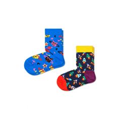kids 2-pack space cat blauw