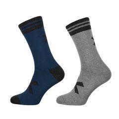 2-pack sportief grijs / blauw