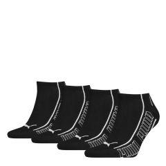promo sneaker 4-pack zwart