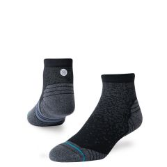 run feel360 infiknit quarter zwart