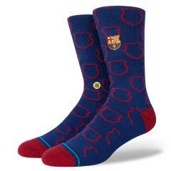 casual FCB crest blauw (FC Barcelona)