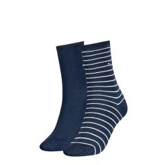 dames small stripe 2-pack blauw II