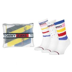 tommy jeans giftbox 3-pack paint wit
