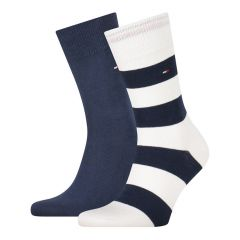 rugby 2-pack blauw & wit