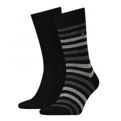 duo stripe 2-pack zwart