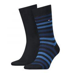 duo stripe 2-pack blauw II