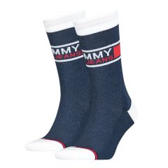 tommy jeans flag 2-pack blauw
