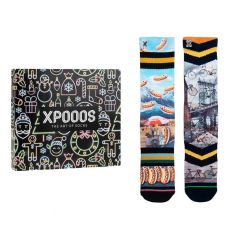 giftbox 2-pack brooklyn bridge & hot dog multi