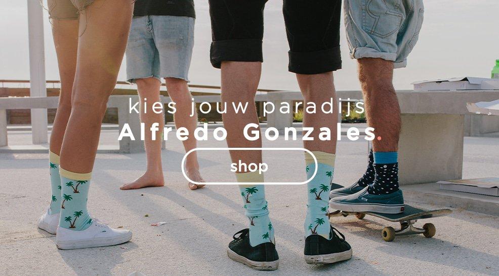 Alfredo Gonzales - kies jouw paradijs