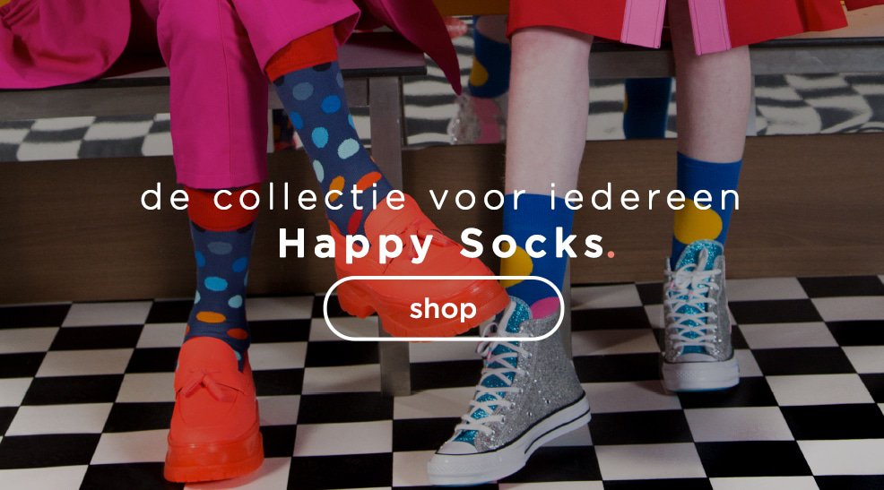 Happy Socks - de collectie voor iedereen